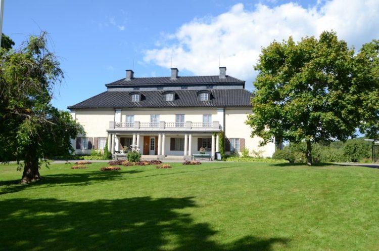 Mårbacka, hvor Selma Lagerlöf blev født i 1858 og døde i 1940. Foto: JayJay.