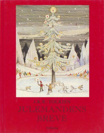 Her er det den danske udgave af J. R. R. Tolkiens bog med breve fra Father Christmas til forfatterens børn.
